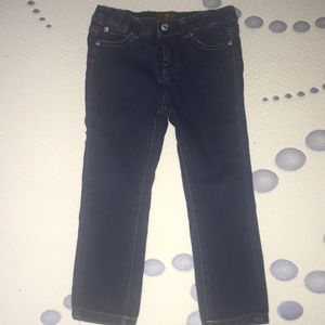 Toddler stretch jeans 4t-7 for all man kind